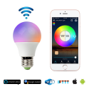Deals List: RGB LED Smart Bulb,WiFi Light Bulb,Multicolor,Dimmable,No Hub Required, 45W Equivalent, Works with Amazon Echo Alexa and Google Home Assistant,CE/FCC/UL Listed