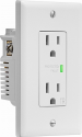 Deals List:  Insignia 2-Outlet In-Wall Surge Protector White, NS-HW120S18