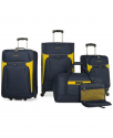 Deals List: Nautica Oceanview 5 Piece Luggage Set