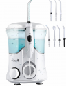 Deals List: QQCute Water Dental Flosser with 7 Multifunctional Tips 600ml Countertop teeth cordless Oral Irrigator For Home Use