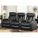 Deals List: Abbyson Living Larson Leather Reclining Home Theater Seating 3-Piece Set