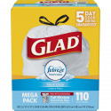 Deals List: Glad OdorShield Tall Kitchen Drawstring Trash Bags - Febreze Fresh Clean - 13 Gallon - 110 Count