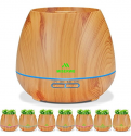 Deals List: Miserwe Diffuser Aromatherapy 550ML Essential Oil Diffuser Planter