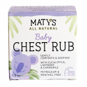 Deals List: Matys All Natural Baby Chest Rub 1.5 Oz Coughs & Stuffy Noses