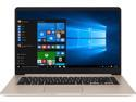 """Deals List: ASUS VivoBook S Ultra-Thin and Portable Laptop, Intel Core i5-8250U processor, 8 GB DDR4 RAM, 256 GB SSD, 15.6"""" FHD WideView Display, ASUS NanoEdge Bezel, Metal Cover, S510UA-DS51"""