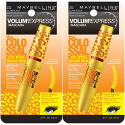 Deals List: Maybelline New York Volum' Express The Colossal Cat Eyes Washable Mascara Makeup, Glam Black, 2 Count