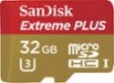 Deals List: SanDisk - Extreme PLUS 32GB microSDHC UHS-I Memory Card, SDSQXSG-032G-ANCMA
