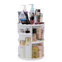 Deals List: DreamGenius Makeup Organizer 360 Degree Rotating Adjustable Multi-Function Cosmetic Storage
