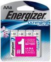 Deals List: Energizer Ultimate Lithium AA Batteries, 8 Count (L91SBP-8)