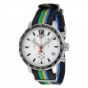 Deals List: Tissot Quickster White Dial Striped Nylon Mens Watch