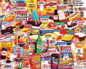 Deals List: White Mountain Puzzles Things I Ate As A Kid - 1000 Piece Jigsaw Puzzle