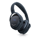 Deals List: Photive BTH3 Over-The-Ear Wireless Bluetooth Headphones with Built-in Mic and 12 Hour Battery. Includes Hard Travel Case