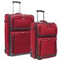 Deals List: Travelers Choice Conventional II 2-Piece Rugged Luggage Set