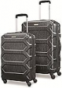 "Deals List:  Samsonite Magnitude Lx 2 Piece Nested Hardside Set (20""/24""), Black"