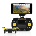 Deals List: Tenergy TDR Sky Beetle Mini RC Drone with Camera Live Video, 2.4GHz FPV WiFi App Controlled Quadcopter Drone with Docking Transmitter, Auto Hovering, One-key Stunt Moves