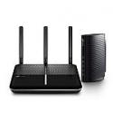 Deals List:  TP-LINK AC2300 Wireless Dual Band Gigabit Router and DOCSIS 3.0 Cable Modem Bundle