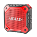 Deals List: AOMAIS Ultra Portable Wireless Bluetooth Speakers with 8W Loud Sound, Waterproof IPX7 Shower Speaker ,Stereo Pairing for Echo Dot, iPhone, iPod, Laptop(Red)