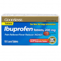 Deals List: GoodSense Ibuprofen Pain Reliever/Fever Reducer Tablets (NSAID), 200 mg, 100 Count
