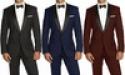 Deals List: Braveman Men's Shawl-Lapel Runway Tuxedo w/Bow Tie
