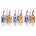 Deals List: Purell Advanced Hand Sanitizer Essentials Portable Bottle - Infused with Essential Oils, 1oz. Travel Sized Jelly Wrap Bottles (Case of 9) - 3900-09-ECME17