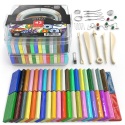 Deals List: Arteza Polymer Clay Starter Kit, 42 Colors of Oven-Bake Clay Blocks, 5 Sculpting Tools, and 30 Jewelry Accessories