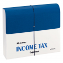 Deals List: Smead All-in-One Income Tax Organizer, 12 Pockets, Flap and Cord Closure, Letter Size, Navy/White (70660)