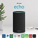 Deals List: Amazon Echo (2nd Gen - Black Charcoal Fabric)