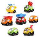 Deals List: Kinder Toys Network Toon Town Baby Toy Cars , Set of 7 - Fire Truck, Tow Truck, Dump Truck, Helicopter and More