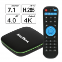 Deals List: 2018 Version Leelbox Q1 Android 7.1 TV Box with BT 4.0 Supporting 4K (60Hz) Full HD /H.265 /WiFi Smart TV Box
