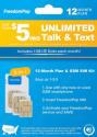 Deals List: FreedomPop - 12-Month Prepaid Plan LTE 3-in-1 SIM Card Kit