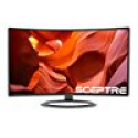 """Deals List: SCEPTRE C275W-1920R 27"""" Curved 1920x1080 FHD LED Backlight LCD Monitor with HDMI & DisplayPort Built-in Speakers"""