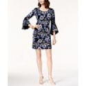 Deals List: NY Collection Cutout-Detail Handkerchief-Hem Dress