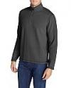 Deals List: Eddie Bauer Men's Kachess 1/4 Zip Pullover (Various)