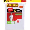 Deals List: Hanes Mens ComfortSoft White Crew Neck T-Shirt SUPER VALUE 10-Pack