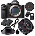 Deals List: Sony a7R II Full-frame Mirrorless 42.4MP Camera with Rokinon 35mm f/2.8 FE Lens