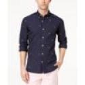 Deals List: Tommy Hilfiger Men's Carson Embroidered Custom-Fit Shirt