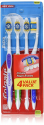 Deals List: Colgate Extra Clean Full Head Toothbrush, Medium - 4 Count (Pack Of 3)