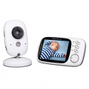 Deals List: Baby Monitor 3.2inch LCD Display Video Baby Monitor with Night Vision and Temperature Monitoring and Lullabies