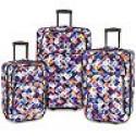 Deals List: Elite Luggage 3-Piece Expandable Rolling Luggage Set