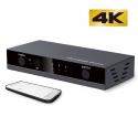 Deals List: KUIZOOU HDMI Switch 3x1 3 Port Splitter Supports 4K 3D
