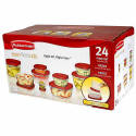 Deals List: Rubbermaid Easy Find Lids Food Storage Container Set, 24-Piece Set