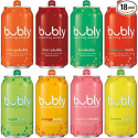 Deals List: bubly Sparkling Water Sampler, Variety Pack, All 8 Flavors, 12 Ounce Cans (18 Count)