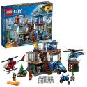 Deals List: LEGO City Mountain Police Headquarters 60174 Building Kit (663 Piece)