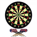 Deals List: Trademark Games Dart Game Set with 6 Darts and Board