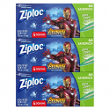Deals List: Ziploc Brand Sandwich Bags Featuring Marvel Studios' Avengers: Infinity War Designs, 66 ct, 3 Pack