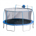 Deals List: 15ft SteelFlex Trampoline with Slama Jama Basketball System