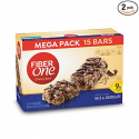 Deals List: Fiber One Chewy Bar, Oats and Chocolate, 15 Fiber Bars Mega Pack, 21.2 oz (Pack of 2)