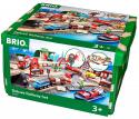 Deals List: Brio Deluxe Railway Set Wooden Toy Train Set for Kids