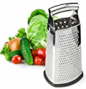 Deals List: Spring Chef Box Grater 4-Sided Stainless Steel Large 10