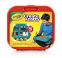 Deals List: Crayola Create 'n Carry Case, Portable Art Tools Kit, Over 75 Pieces, Great Gift